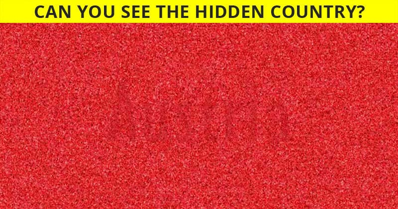 Only 1 in 30 Sharp-Eyed Geniuses Can Spot the Hidden Countries!