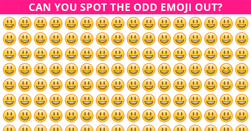How Quickly Can You Spot The Odd One Out? Not Many Can Do It In Under 7 Seconds
