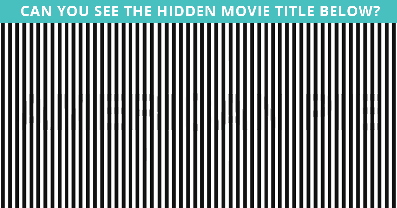 Only 10 People Have Passed This Difficult Hidden Movie Visual Game So Far! Will You?