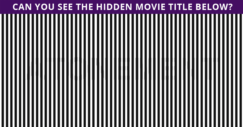 Only 1 In 30 Sharp-Eyed People Can Ace This Tough Hidden Movie Visual Challenge. How About You?