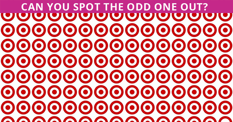 This Odd One Out Visual Puzzle Will Determine Your Visual Perception Talents In 60 Seconds