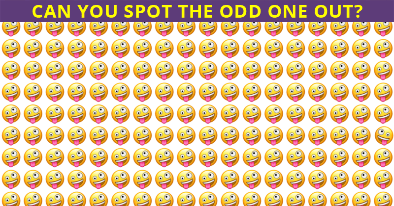 People Are Saying This Odd One Out Visual Test Is Impossible