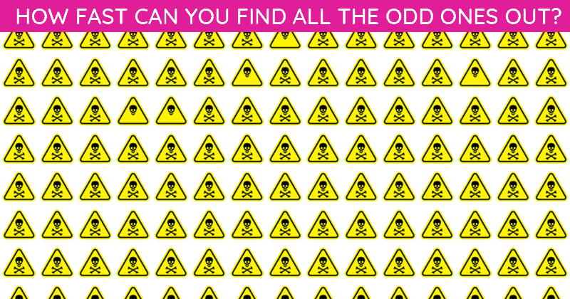 Only 1 In 50 People Can Ace This Odd One Out Test. Are You Up To The Task?