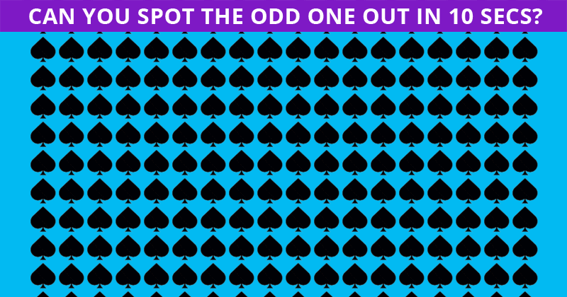 Only 1 In 30 People Can Beat This Difficult Odd One Out Test. How About You?