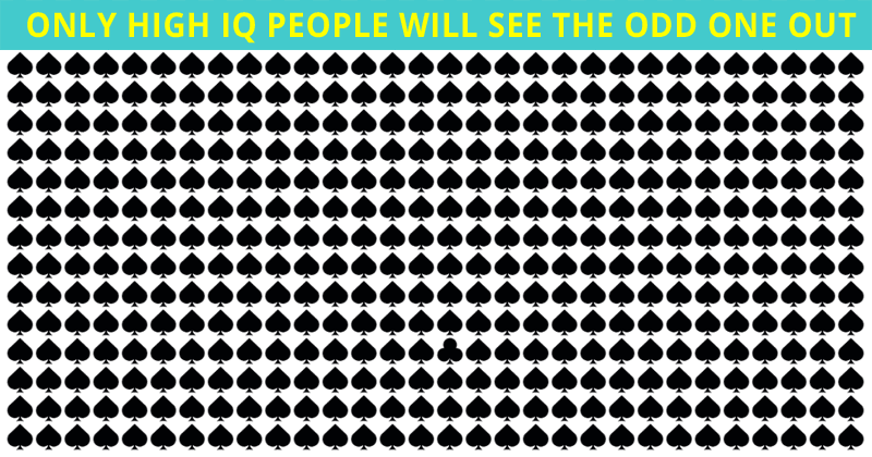 This Odd One Out Visual Game Will Determine Your Visual Perception Abilities In One Minute