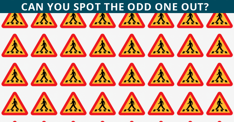 Only People With A Seriously High IQ Will Be Able To Ace This Odd One Out Visual Test! Can You?