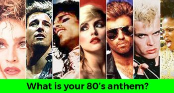 What Is Your 80's Anthem?