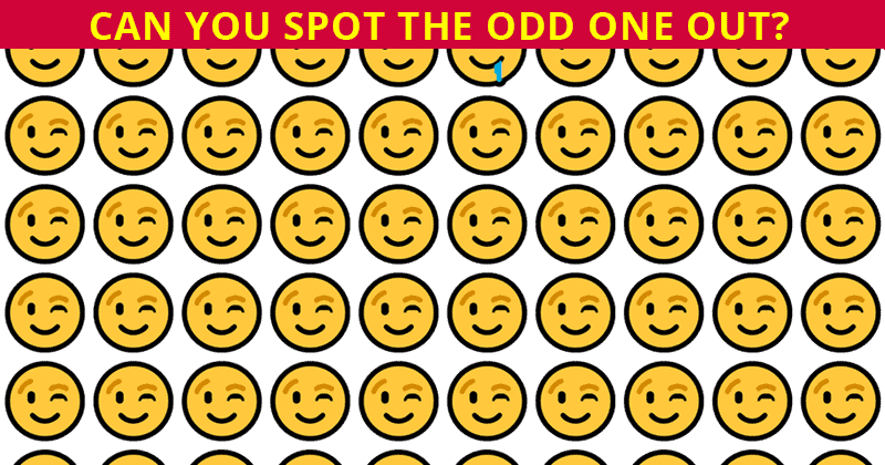 Are You Smarter Than Average? Try To See The Odd One Out In Less Than 20 Seconds