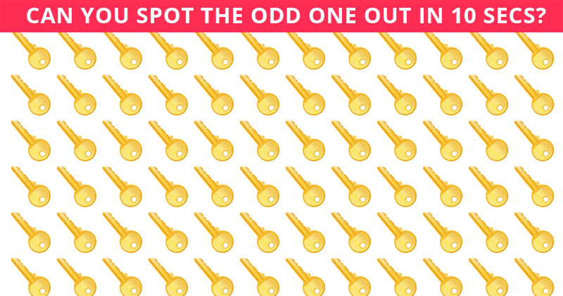 How Quickly Can You Spot The Odd One Out? Not Many People Can Do It Under 10 Seconds