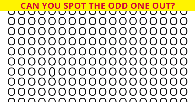 Can You Get A Perfect Score In This Tricky Visual Perception Test?