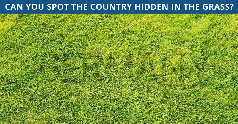 This Hidden Country Visual Test Will Determine Your Visual Perception Talents!