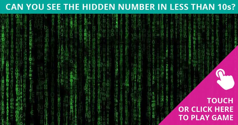 Only 7% Of People Can Ace This Hidden Number Visual Puzzle. Are You Up To The Challenge?