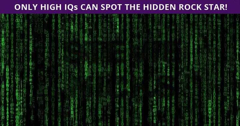 Almost No One Can Achieve 100% In This Hidden Rock Stars Visual Challenge. Are You Up To The Challenge?