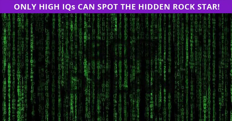 Only 1 In 50 People Can Achieve 100% In This Hidden Rock Stars Visual Task. Are You Up To The Task?