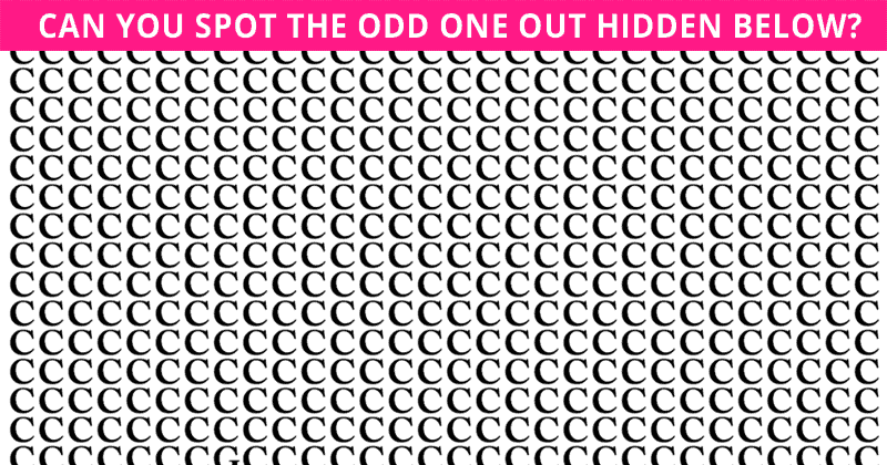 Only People With A Seriously High IQ Will Be Able To Ace This Odd One Out Puzzle! Can You?