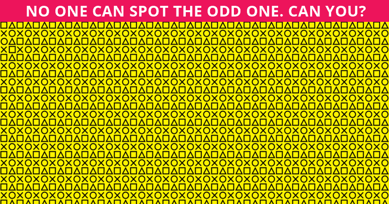 Only 1 In 30 Sharp-Eyed People Can Ace This Difficult Visual Challenge. How About You?