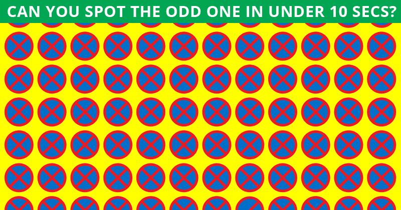 Only 1 in 30 Sharp-Eyed People Can Spot The Odd Ones Out