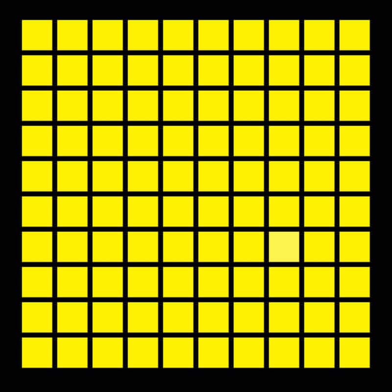 Only 4% Of People Can See The Different Color Squares! How About You?
