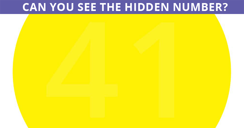 This Visual Test Will Determine the Sharpness of Your Vision In Less Then One Minute