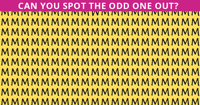 No One Can Score A Perfect 10 On This Tough Odd One Out Game Without Cheating. Go!