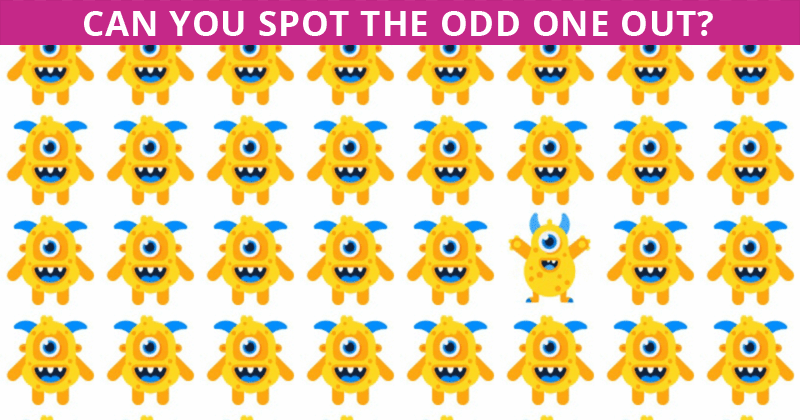 Almost No One Can Beat This Challenging Odd One Out Visual Challenge. How About You?