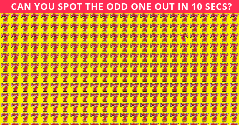 Amazing Test To Check Your Focusing Abilities Only 1 Person Out Of 95 Can Do It. How About You?