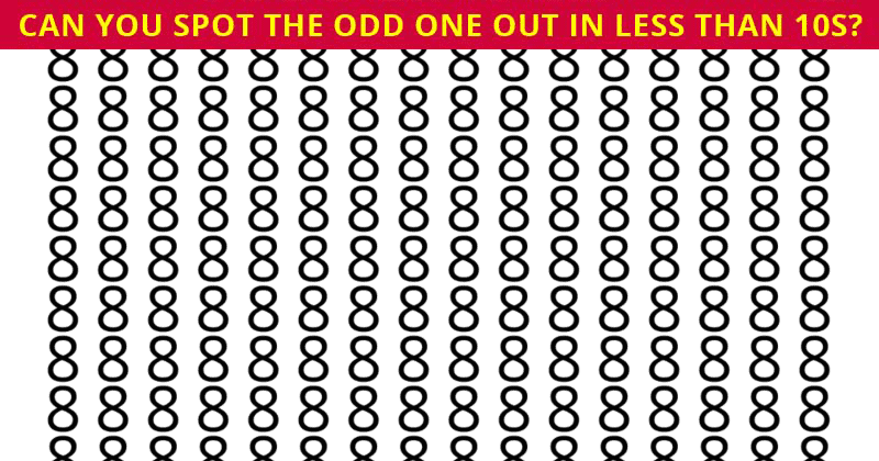 Almost No One Can Achieve 100% In This Challenging Odd One Out Visual Test. How About You?