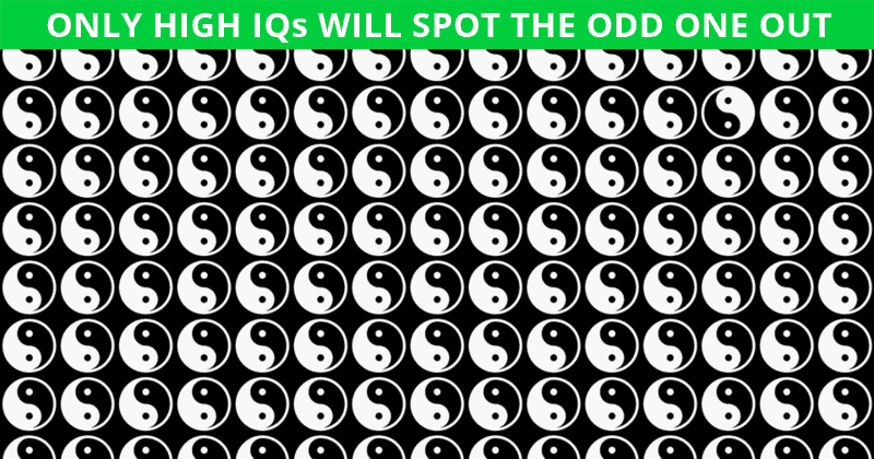 Can You Pass This Tricky Odd One Out Visual Test Quiz?