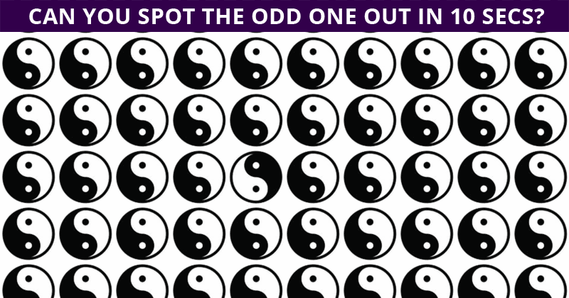 Only 6% Of People Can Beat This Odd One Out Puzzle. Are You Up To The Challenge?